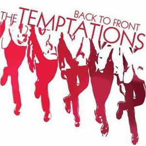 Back to Front (The Temptations album) - Image: Backtofronttempt