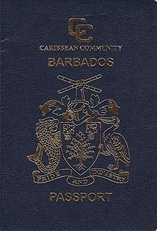 Barbados passport passport