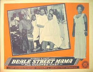 Beale Street Mama - Poster art
