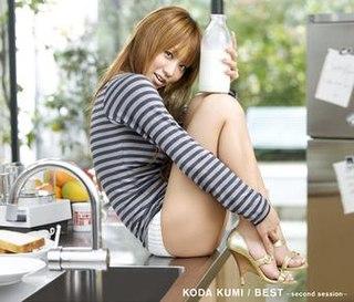 <i>Best: Second Session</i> 2006 greatest hits album by Koda Kumi