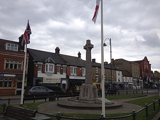 Biggleswade - Biggleswade's war memorial.