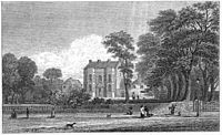 Bingley House 1830, demolished to build Bingle...