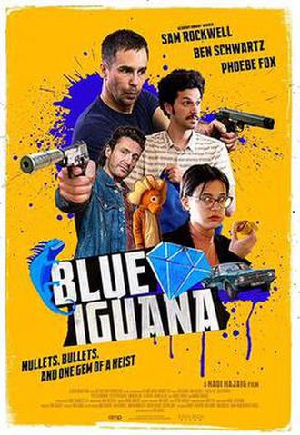 Blue Iguana (film) - Theatrical release poster
