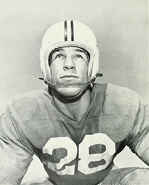 Bob Ward (American football) - Ward during his college career at Maryland