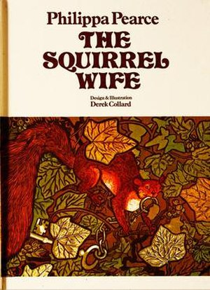 The Squirrel Wife - Front cover art of 1971 first edition