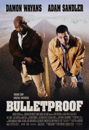 Bulletproof (1996 film) - Theatrical release poster