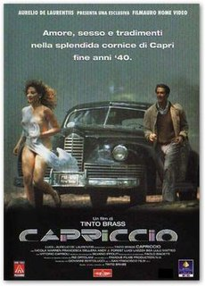 <i>Capriccio</i> (1987 film) 1987 film directed by Tinto Brass