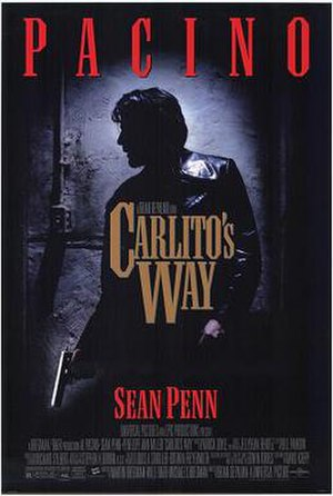 Carlito's Way - Theatrical poster