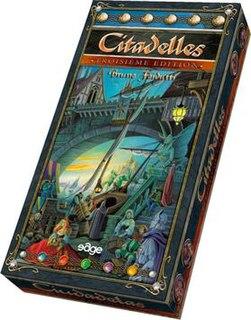 Citadels (card game) board game