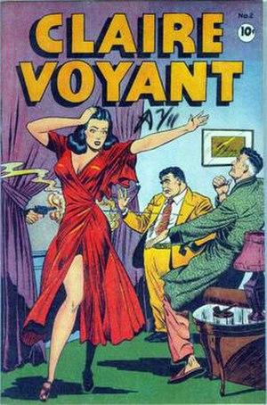 Claire Voyant (comic strip) - Image: Claire Voyant 2