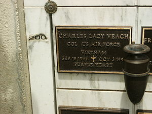 Charles L. Veach - Gravesite of Charles Lacy Veach