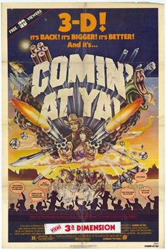 Comin' at Ya! - US film poster