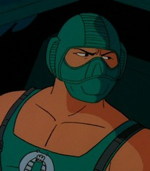 Copperhead (G.I. Joe) - Copperhead as seen in the Sunbow/Marvel G.I. Joe cartoon.