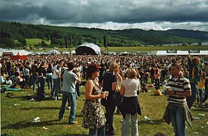 RockNess - A View of the main stage at the 2006 event