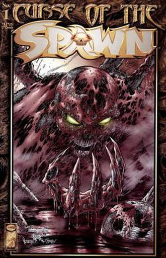 Curse of the Spawn - Cover of the first issue
