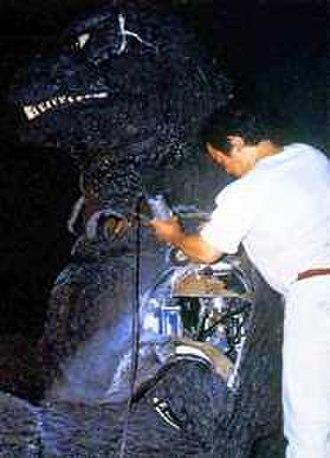 "The Return of Godzilla - Construction of the hydraulic ""Cybot"" Godzilla"