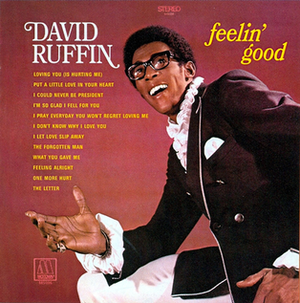 David Ruffin - The album cover of his follow-up LP