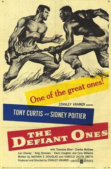 Image result for the defiant ones 1958