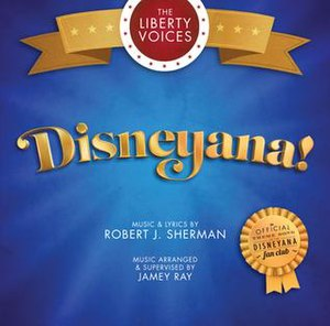Disneyana Fan Club - Image: Disneyana! (song) CD cover