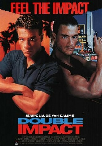Double Impact - Video release poster