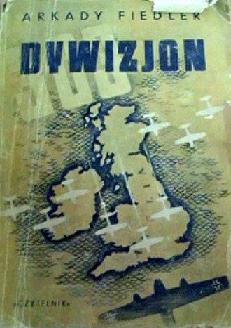 Squadron 303 (book) - Cover of 1946 edition (publ. Czytelnik)