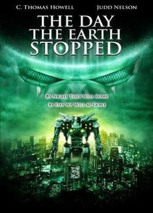 The Day the Earth Stopped - The Day the Earth Stopped DVD cover