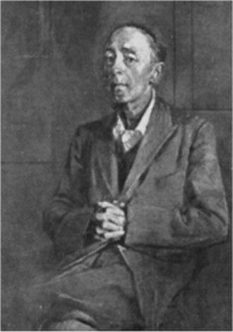 Edward Sackville-West, 5th Baron Sackville - Portrait by Graham Sutherland