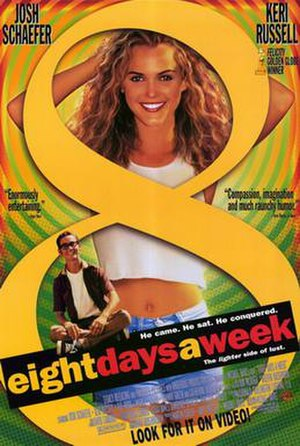 Eight Days a Week (film) - Theatrical release poster