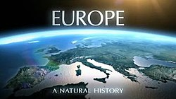 Europe: A Natural History title card