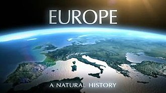 Europe: A Natural History - Series title card from UK broadcast