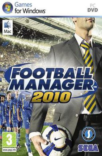 Football Manager 2010 - Image: FM2010cover