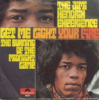 Fire (The Jimi Hendrix Experience song) - Image: Fire cover