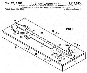 Harvey C. Nathanson - The first MEMS device.