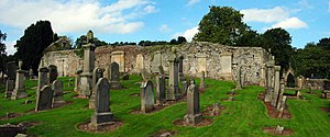 Bathgate - Remains of Bathgate's former Parish Church