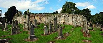 Bathgate - Remains of Bathgate's former Parish Church