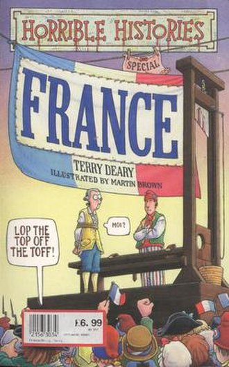Horrible Histories (book series) - The former front cover of the Horrible Histories special France.
