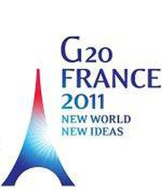 2011 G20 Cannes summit - Image: G20 FRANCE 2011 EN logo