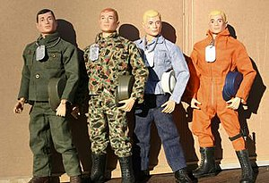 Figurine - Original G.I. Joe toy figurines