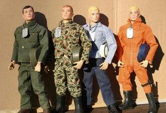 Figurine - Original G.I. Joe toy figurines