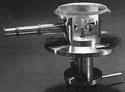 Geiger-Marsden apparatus photo