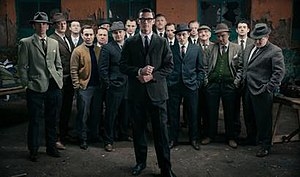 """The Great Train Robbery (2013 film) - The cast of """"A Robber's Tale"""""""