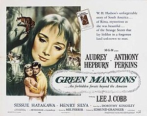 Green Mansions (film) - Theatrical release lobby card by Joseph Smith