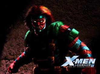 Grizzly (comics) - Grizzly as a boss character in X-Men Legends II: Rise of Apocalypse.