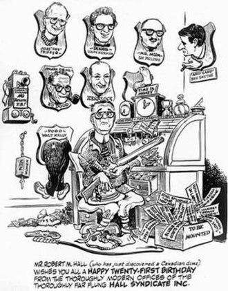 Publishers-Hall Syndicate - Image: Hallcartoonists 1967