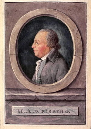 Heinrich August Wrisberg - Heinrich August Wrisberg (1739-1808)