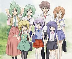 List Of Higurashi When They Cry Characters Wikipedia