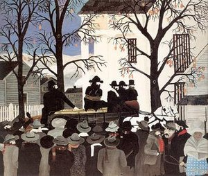 Horace Pippin - Image: Horace Pippin, John Brown Going to His Hanging