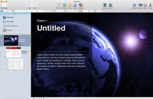 IBooks Author - Image: I Books Author screenshot