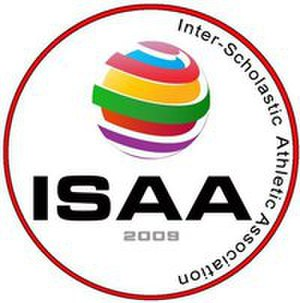 Inter-Scholastic Athletic Association - Image: ISAA logo