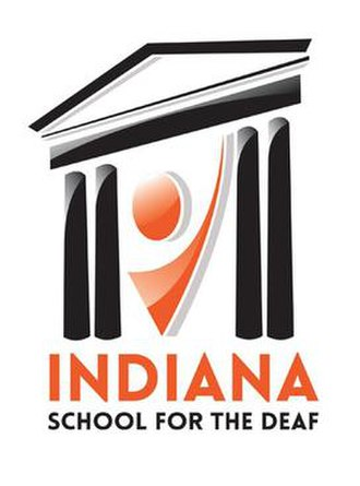 Indiana School for the Deaf - Image: Indiana School for the Deaf logo